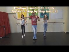 Meghan Trainor Tap Dance Tutorial part1 - by Cirque-it - YouTube
