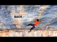 Chris Sharma - BACK in Céüse - Sport climbing and bolting in France