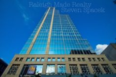 Raleigh, NC. The PNC Condos. Downtown Real Estate. If you want to live in the sky, this is as high as it gets. These are some of our priciest premier city spots to live. Roof top fire pit, pool, and gym in the heart of the Fayetteville Business District. Steven Spacek. 919.637.2410