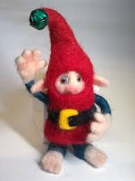 needle felted elves - Google Search