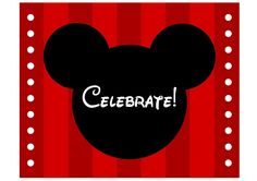 minnie mouse mickey mouse printable party sign