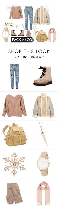 """""""Pack and Go"""" by goldilocks10 ❤ liked on Polyvore featuring Dolce&Gabbana, Ryan Roche, Chloé, David King & Co., John Lewis, Kate Spade, Burberry, Winter, 2017 and winterstyle"""