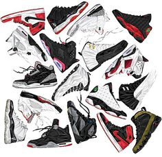 Air Jordan Art