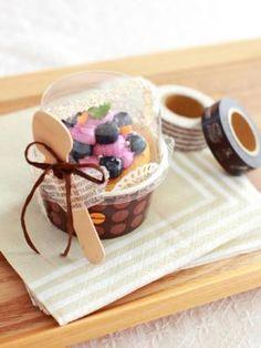 「ミニケーキのラッピング」Miraさんの3分間ラッピング | お菓子・パンのレシピや作り方【corecle*コレクル】