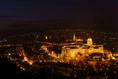 Budapest citadell ,Hungary at night