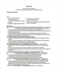 Financial Operations Manager Resume Template  Finance Manager
