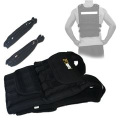 ZFOsports® - 70LBS ADJUSTABLE WEIGHTED VEST - Listing price: $169.99 Now: $119.99