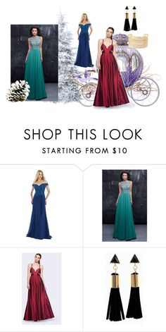 """""""homecomingqueendress"""" by anchesky ❤ liked on Polyvore featuring Morrell Maxie, Nina Canacci, Fame & Partners, Charlotte Russe and homecomingqueendress"""