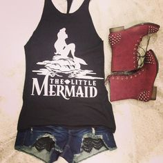 @wetseal | Hate the boots love the top and shorts thelittlemermaid
