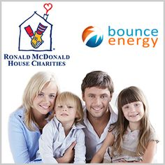 Help Bounce support the Ronald McDonald House - we're donating 2500 dollars PLUS 50 cents per each new follower to Twitter (@bounceenergy) and each new follower to our Facebook page.