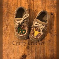 MADE TO ORDER Infant Toddler Little Kid Custom Sperrys 760308f863a9