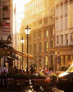 Lipscani . . #lipscani #oldcity #bucharest #goldenhour #sunset #centrulvechi #bucuresti #romania #bucharest #warm #lamppost #bucurestioptimist #summer #citylife #igersbucharest #ig_bucharest Romania Bucharest, Old City, Golden Hour, City Life, Street View, Warm, Sunset, Old Town, Sunsets