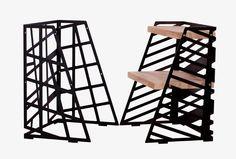 """Aus"" simplicity and flexibility change your shelves into a drawer in a seconds!! #laboratuvarstudio #desingstudio #design #sidetable #bedsidetable #metal #bronze #black #graphic #minimal #productdesign #furniture #pretty  #craft #wooden #interior #architecture #walnut #drawer #simplicity #decoration #nyc #paris #london #amsterdam #furnituredesign #igers #cute #art #tasarim by laboratuvarstudio"