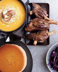 Red Wine-Braised Lamb Shanks Recipe on Food & Wine