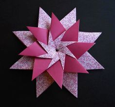 Mandala Carla by Maria Sinayskaya - Tutorial by JM's Origami Tutorials