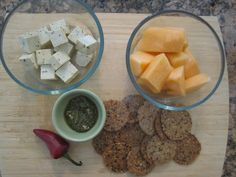 Ingredients for the Picnic Snack from my newest book S.A.S.S! Yourself Slim