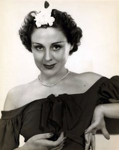 Vicki Vola c.1936 *She was best known for her portrayal of Edith Miller on both the radio and television runs of Mr. District Attorney.