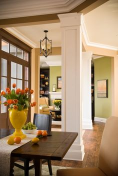 """Green Paint Color """"Brookside Moss"""" by Benjamin Moore"""