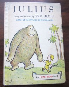 Vintage Children's Book - Julius - Story & Pictures by Syd Hoff (1959, HC)