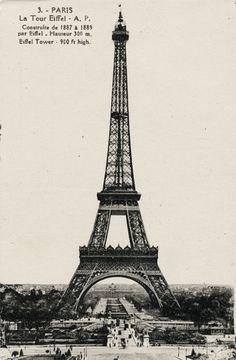 La Tour Eiffel.