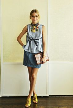The Olivia Palermo Lookbook : Fashion Inspiration by Olivia Palermo