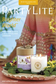 Katalog Winter/Frühling 2014 Partylite, Bright, Catalogue, Table Decorations, Home Decor, Passion, Winter Time, Spring, Winter