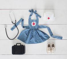 Mer Mag: Play Hospital & Child's Nurse Costume