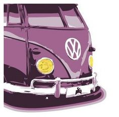 VW purple | Purple passion | More purple lusciousness here: http://mylusciouslife.com/purple-passion/