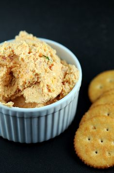 Some of my favorite things:  Bacon, Cheddar, Ale & Cheese Spread. Wish I would have had this recipe for the Superbowl party!