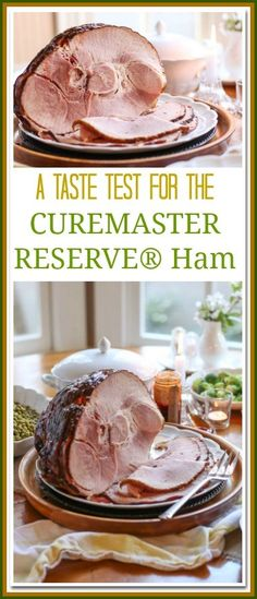 The CUREMASTER RESERVE® Ham is a Curemaster selected premium small batch ham that is slowly cooked and smoked in handpicked wood chips. Each ham is then glazed with the finest ingredients. The result is delectable perfection. #ad