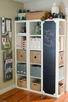 Ideas para personalizar la estantería Kallax de Ikea ¡y transformarla en una…
