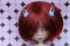 Cute Flower Bling Hair Clips Hair Accessories $2.99 #pullip