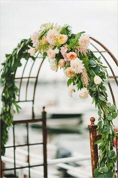 Welp 23 beste afbeeldingen van Trouwbogen - Bruiloft, Boog bruiloft en EH-66