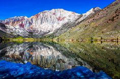 Convict Lake in the Sierra Nevadas- one of my favorite places.