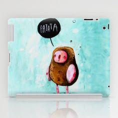 SAY PATATA iPad Case