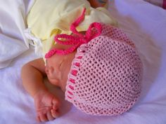 Crochet Adjustable Baby Hat Free Pattern