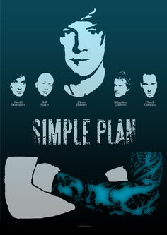"Simple Plan Poster | ""I want a lifetime supply of skittles ..."