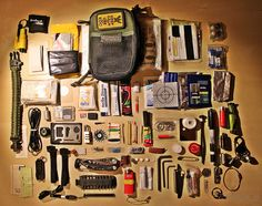 Investing in survival gear can significantly improve your chances of surviving a natural disaster. You should put together an extensive survival kit and work on your survival skills as much as possible. Survival Supplies, Survival Skills, Survival Gear, Tactical Pocket Knife, Tactical Gear, Molle Backpack, Edc Everyday Carry, Edc Carry, Pocket Organizer