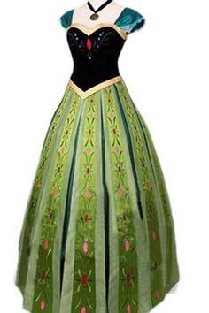 アナ Anna cosplay プリンセスドレス