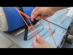 Automatic Trucker's Hitch (Tension Locking) - YouTube