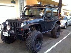 jeep wrangler 2 door trunk space - Google Search