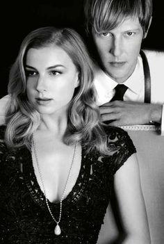 Marie Claire Australia | Revenge Cast || Emily VanCamp | Gabriel Mann