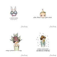 As Ilustrações de Mônica Crema