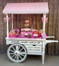 Love the idea of vending carts for display of other retail items such as clothing, vintage ornaments, etc.