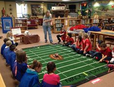 SWERSTY'S SWAP SHOP: Library Football Super Bowl fun for the library! I think this activity could translate to any curricular area in the classroom as well. How fun!