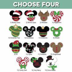 Disney diy craft ideas for kids - Kids Crafts Disney Christmas Decorations, Disney Christmas Shirts, Mickey Christmas, Noel Christmas, Disney Shirts, Xmas, Christmas Ornaments, Christmas Decals, Disneyland Christmas