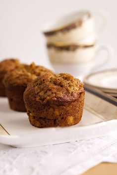 Seriously, these banana muffins are soft and moist and delicious and just as good on day two and they freeze beautifully. Old bananas can have a new life! Banana Recipes, Muffin Recipes, Best Banana Muffins Ever, Nutrition, Something Sweet, Dessert Recipes, Desserts, Baked Goods, The Best