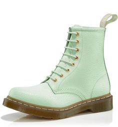 Dr. Martens 1460 Pearl in Mint $120