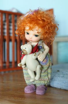 Realpuki Titi | What a sweet sculpt this is. Such a baby fac… | Flickr