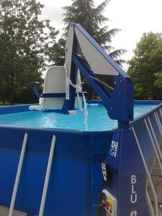 F100 Outdoor Poolside Lift for above ground pools>>> See it. Believe it. Do it. Watch thousands of spinal cord injury videos at SPINALpedia.com